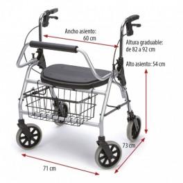 Maxi Rolator 'L' 200 kg