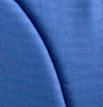 tejido azul